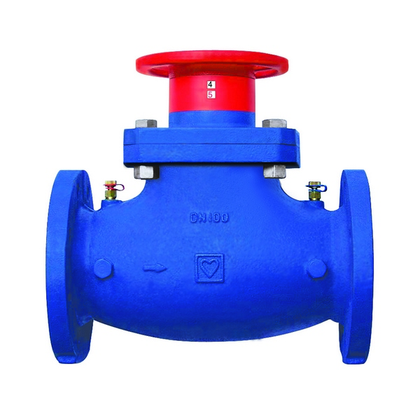 Variable Orifice Double Regulating Valve flanged