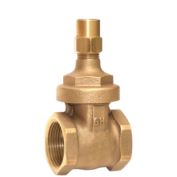 Copper Alloy LS Gate Valve UK Water Reg 4 Compliant