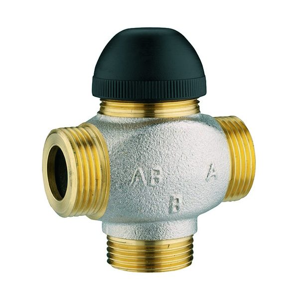 Three port control valves