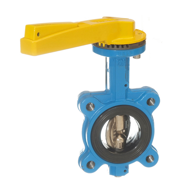 Gas Fully-lugged Lever Butterfly Valve