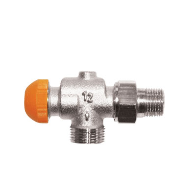 TS-98-V Thermostatic Continuous Presettable Valve reverse Angle Model