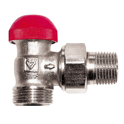 TS-90-V Thermostatic Concealed Presettable Valve Angle Model
