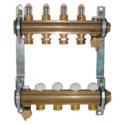 DN25 Manifold with top meter 6 l/min PN10