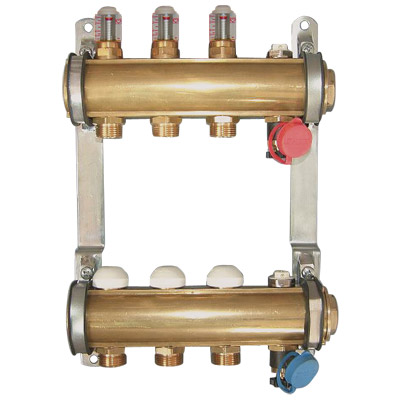 DN32 Manifold with top meter 6 l/min PN10