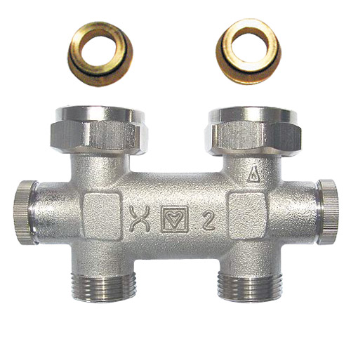 HERZ-3000 TP-bypass body for two-pipe systems