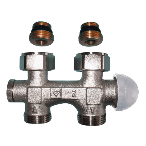 TS-3000-Bypass Bodies with Integrated Thermostatic Valves M 30 x 1.5