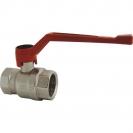 Ball valve with lever (alluminium alloy), PN 25, socket x socket