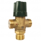 HERZ-Mixing valve with two-port flow direction
