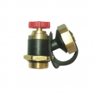 Drain Valve with handle and swivel hose connection