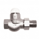 HERZ-TS-E-Thermostatic Valve Straight model