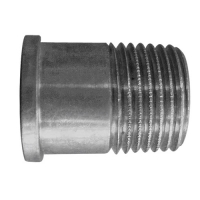 Connection fittings; threaded flat seat