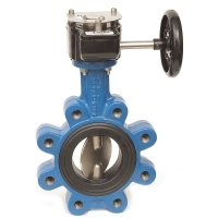 Fully Lugged Double Regulating Butterfly Valve