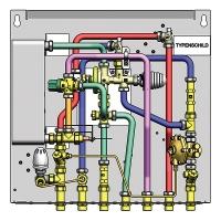 HERZ-HIU DELUXE with hot water priority