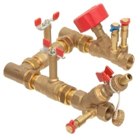 Std Connect 4 with 4017 commissioning valve