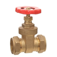 Compression Gate Valve WRAS Approved