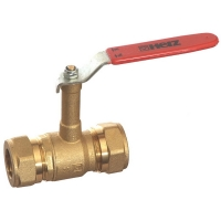 DZR Ball Valve Compression Extended Stem WRAS Approved