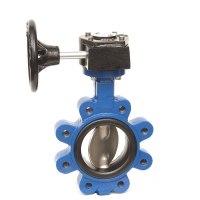 Fully-lugged Gear Butterfly Valve UK Water Reg 4 Compliant