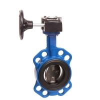 Semi-lugged Gear Butterfly Valve WRAS Approved