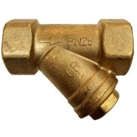 DZR Strainer PN25 UK Water Reg 4 Compliant