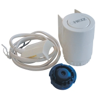 HERZ-Actuating drive for 2-point or pulse control for underfloor heating