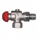 TS-90-V Thermostatic Concealed Presettable Valve reverse Angle Model