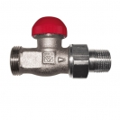 TS-90-V Thermostatic Concealed Presettable Valve Straight Model