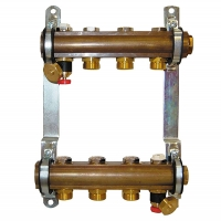 DN25 Manifold with isolation PN10