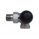 """HERZ-TS-90-H-Thermostatic Valve 3-Axis Valve """"CD"""""""