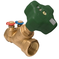 HERZ-Fixed Orifi ce Double Regulating Valve for drinking-water systems
