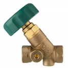 Isolating Valve for Drinking Water Systems in buildings, inclined model