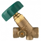 STRÖMAX-AW-Isolating Valve, inclined model Rp (female thread)
