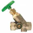 STRÖMAX-AW-Isolating Valve, inclined model with threaded ends, Rp (female thread)