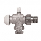 HERZ-TS-90-Thermostatic Valve Reverse angle with air valve