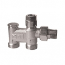Herz-2000 One pipe Bypass Valve