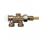 HERZ-VTA-40-Four-Way Valve for one-pipe system