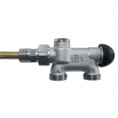 HERZ-VTA-50-Four-Way Valve for one-pipe system with thread M 30 x 1.5