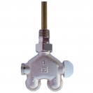 HERZ-VUA-40-Four-Way Valve Angle model for one-pipe system