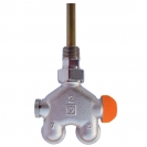 HERZ-VUA-40-Four-Way Valve Angle model for two-pipe system