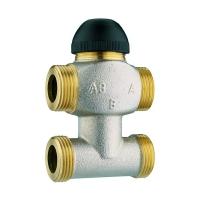 Four port control valves