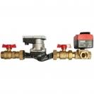 Pump Set 4500 KRAS (1/4 turn mixing valve with electric actuator)