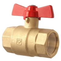 DZR Ball Valve PN40 Tee Handle