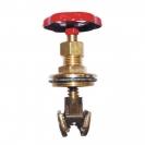 Upper part for gate valve