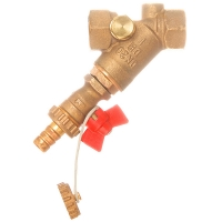 DZR Strainer with Drain Valve
