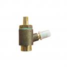 Measuring valve for ST
