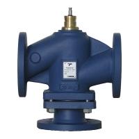 Three port control valves Flanged PN16