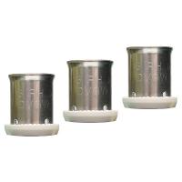 Press Sleeve V11 of stainless steel.