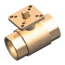 HERZ-two-way control ball valve without operator