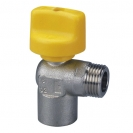 Ball valve with security closing T-handle