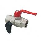 Ball valve with drain cock and plug