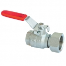 Ball Valve with freely moving nut, with lever